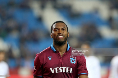 TRABZON, TURKEY - DECEMBER 19: Daniel Sturridge of Trabzonspor is seen during Ziraat Turkish Cup 5th round soccer match between Trabzonspor and Altay in Trabzon, Turkey on December 19, 2019. (Photo by Hakan Burak Altunoz/Anadolu Agency via Getty Images)