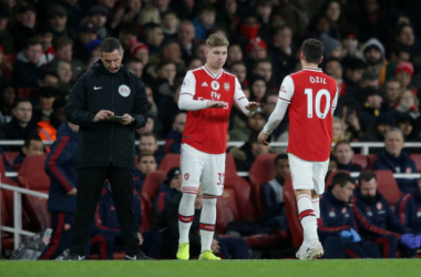 The Changing of the guard, Arsenal's new number 10?