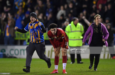 Shrewsbury 2-2 Liverpool: Reds' lack-lustre draw results in FA Cup replay