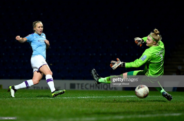Sheffield United Women 0 - 4 Manchester City: Pauline Bremer hat-trick fires blues to Continental Cup semi-final