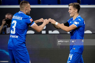 Hoffenheim 3-1 FC Koln: Baumgartner stars as Hoffenheim win incident-packed 10 v 10