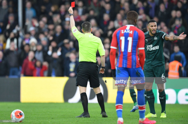 Newcastle United slump to another defeat against Crystal Palace