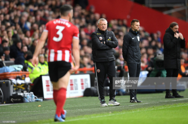 Chris Wilder disagrees with playing games behind closed doors