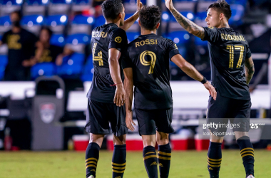 LAFC 6-2 LA Galaxy: Rossi bags four as FC cruise to victory