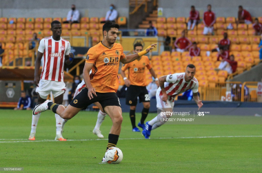 Wolverhampton Wanderers 1-0 Olympiacos [2-1]: Jimenez sends Wolves to first European quarter-final since 1972