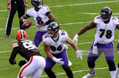 Baltimore Ravens Vs Cleveland Browns preview