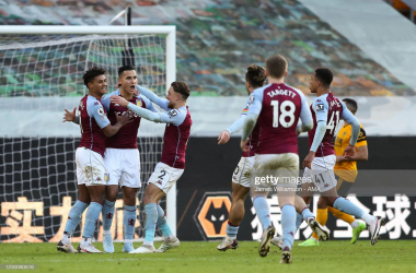 Anwar El Ghazi celebrates after scoring a goal to make it 0-1 via James Williamson- Getty Images