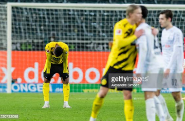 <div>(Photo by Alexandre Simoes/Borussia Dortmund via Getty Images)</div>