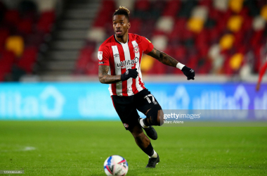 Ivan Toney in action for Brentford | Photo: Getty/ Marc Atkins
