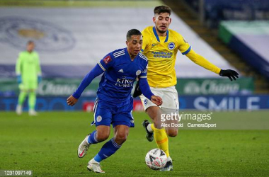Youri Tielemans glides past his opponent | Photo/ Alex Dodd CameraSport