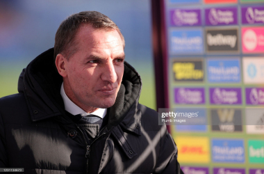 Leicester City manager Brendan Rodgers | Photo: Getty/ Plumb Images