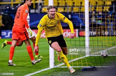 Borussia Dortmund 2-2 Sevilla: Haaland breaks record as Dortmund progress