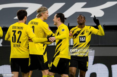 Borussia Dortmund 2-0 Hertha Berlin: BVB have top four in sight