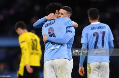Manchester City 2-1 Borussia Dortmund: Foden strikes late to give City first leg advantage
