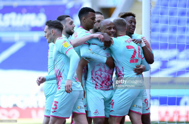 Reading 2-2 Swansea City: Andre Ayew inspires Swansea to clinch playoff finish