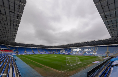 Madejski Stadium - Home of Reading FC - Ground view during the Sky Bet Championship match between Reading and Huddersfield Town at Madejski Stadium on May 8, 2021 in Reading, England. (Photo by David Horton - CameraSport via Getty Images)
