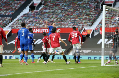 Manchester United 1-2 Leicester City: Soyuncu header gives Leicester win and sees City claim title