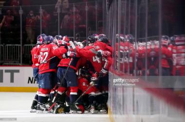 2021 Stanley Cup Playoffs: Washington Capitals edge Boston Bruins in Game 1