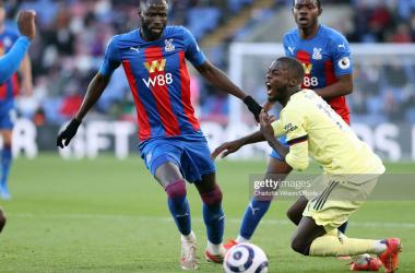 Cheikhou Kouyate's duties belong in midfield - with Arsenal display showing promise