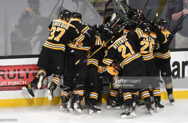 2021 Stanley Cup playoffs: Smith goal gives Bruins victory over Capitals in double-overtime thriller