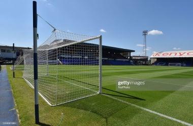 Boundary Park will host Burnley's return to action on Saturday. (Photo by Eddie Garvey/MI News/NurPhoto via Getty Images)