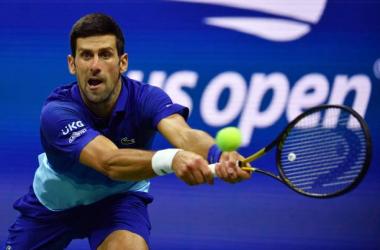 US Open: Novak Djokovic dominates Talon Griekspoor