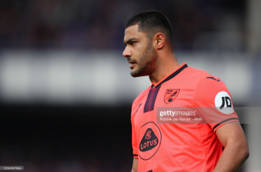 On Loan defender Ozan Kabak gave away a penalty in the first half. Credit: Getty Images, Robbie Jay Barratt AMA