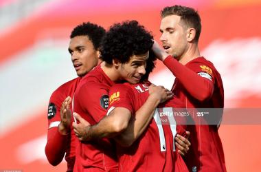 Liverpool 2-0 Aston Villa: Reds return to winning ways