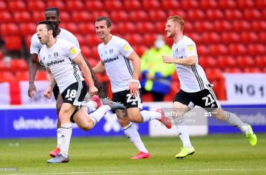 Nottingham Forest 0-1 Fulham: Arter wonder strike keeps Cottagers automatic promotion hopes alive