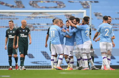 Manchester City 5-0 Newcastle United: Blues trounce injury-stricken Magpies