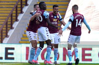 Aston Villa 2-0 Crystal Palace:Trezeguetdouble dismantleshopeless Palace