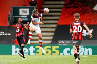 Bournemouth 0-2 Southampton: Late drama as Saints overcome spirited Cherries