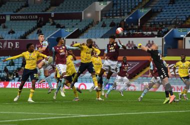 Aston Villa 1-0 Arsenal: Trezuguet's strike moves Villians closer to Premier League safety
