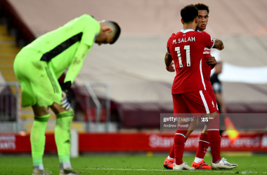 Liverpool 4-3 Leeds: Salah's penalty downs courageous Leeds at the last