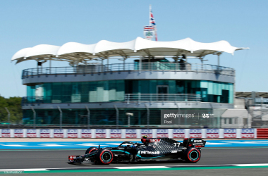 Bottas leads the pack in FP1 at Silverstone
