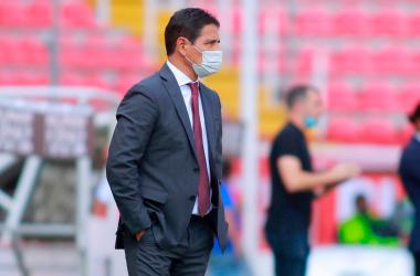 """Alfonso Sosa: """"Nos viene muy bien esta victoria"""""""