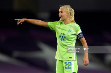 Chelsea announce signing of Denmark striker Pernille Harder from VfL Wolfsburg