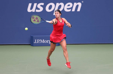 US Open: Anastasija Sevastova edges past Cori Gauff in three sets