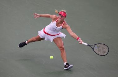 US Open: Angelique Kerber overcomes tough second round test