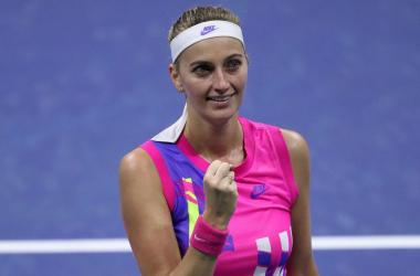 US Open: Petra Kvitova fights past Jessica Pegula to reach fourth round