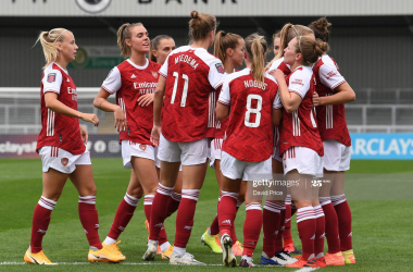 Arsenal Women 6-1 Reading match report: Montemurro's Gunners victorious in WSL opener