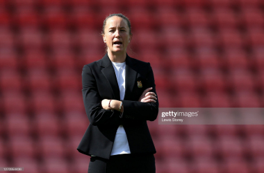 Casey Stoney<br>Photo credit: Lewis Storey for GettyImages