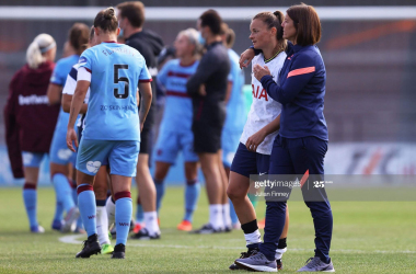 Tottenham Hotspur Women 1-1 West Ham United match report: Adriana Leon's stunning strike denies Spurs an opening day victory