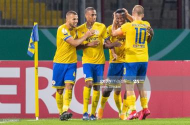 Eintracht Braunschweig 5-4 Hertha Berlin: Top flight Hertha toppled by gutsy Eintracht in the first round of theDFB Pokal