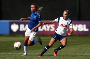 Josie Green of Tottenham Hotspur Women (Photo by Tottenham Hotspur FC / Tottenham Hotspur FC via Getty Images)