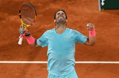 French Open: Rafael Nadal holds off challenge of Jannik Sinner in 100th career Roland Garros match