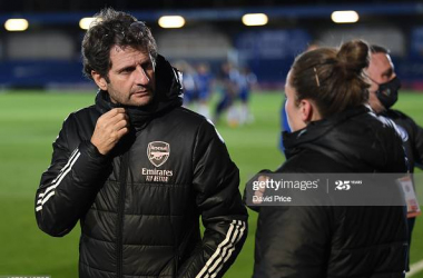 """""""They have the full package and they deserve to be at the top""""- Joe Montemurro ahead of facing Manchester United in the FA WSL"""