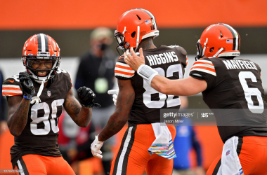 Cleveland Browns win ugly following interception frenzy