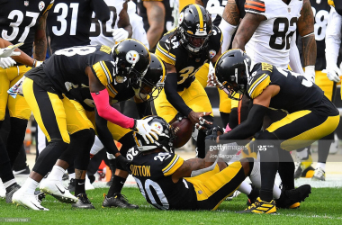 Defense, run game help Steelers rout Browns in AFC North showdown