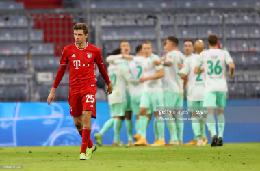 Bayern Munich 1-1 Werder Bremen: The reigning champions have to settle for a point
